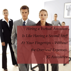 Hiring a Virtual Assistant is Like Having a Second Staff