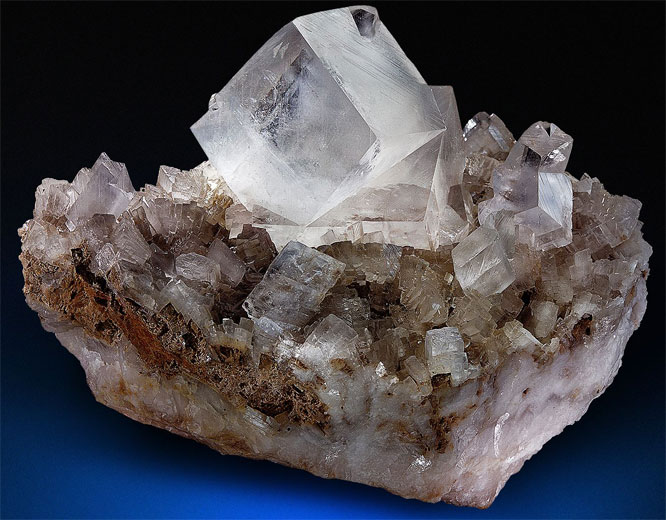 Dolomiet kristal