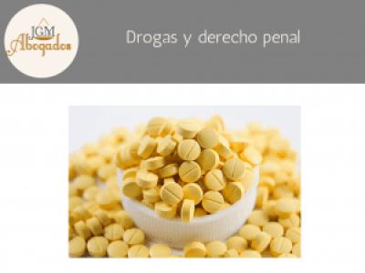 Drogas y derecho penal