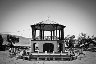 Pérgola plaza Chuquicamata