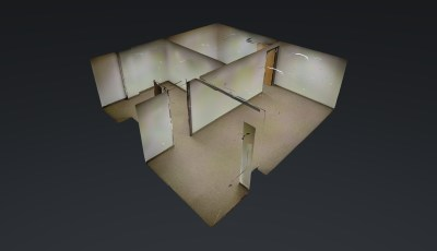 719 SQFT —— St Paul Office Space for Rent 3D Model