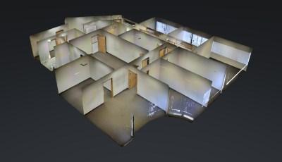 2,558 SQFT —— St Paul Office Space for Rent 3D Model