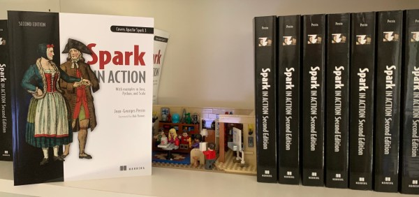 Spark in Action, second edition is a favorite for the Big Bag Theory gang