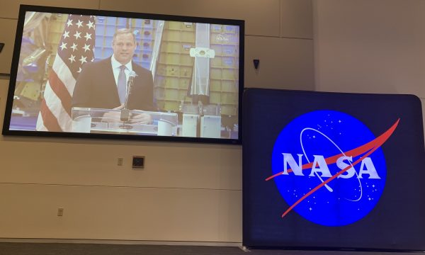 NASA Administrator Jim Bridenstine detailing the highlights of the 2020 budget