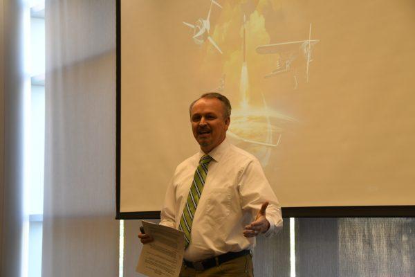 Rob Wyman, Communications Director for NASA Langley