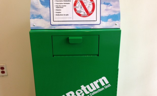 Med Return Drug Collection Unit