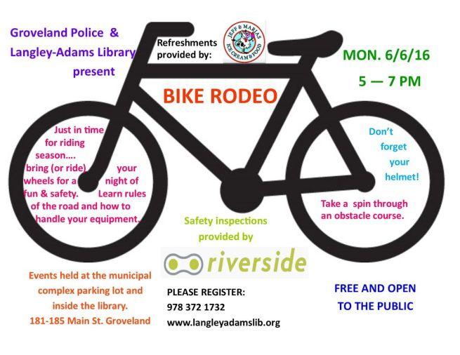 groveland bike rodeo