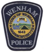 Wenham Police Patch