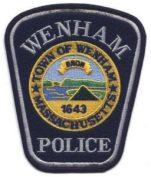 Wenham Police Patch