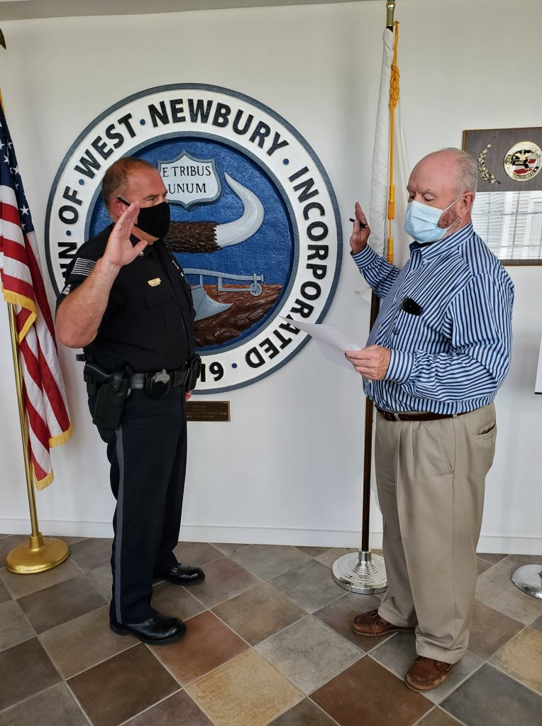 Halloween 2020 Trick Or Treat West Newbury West Newbury Police Announce Promotion of Sgt. Eric Forni   John