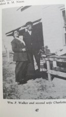 Wm P Walker and 2nd wife Charlotte Hatter