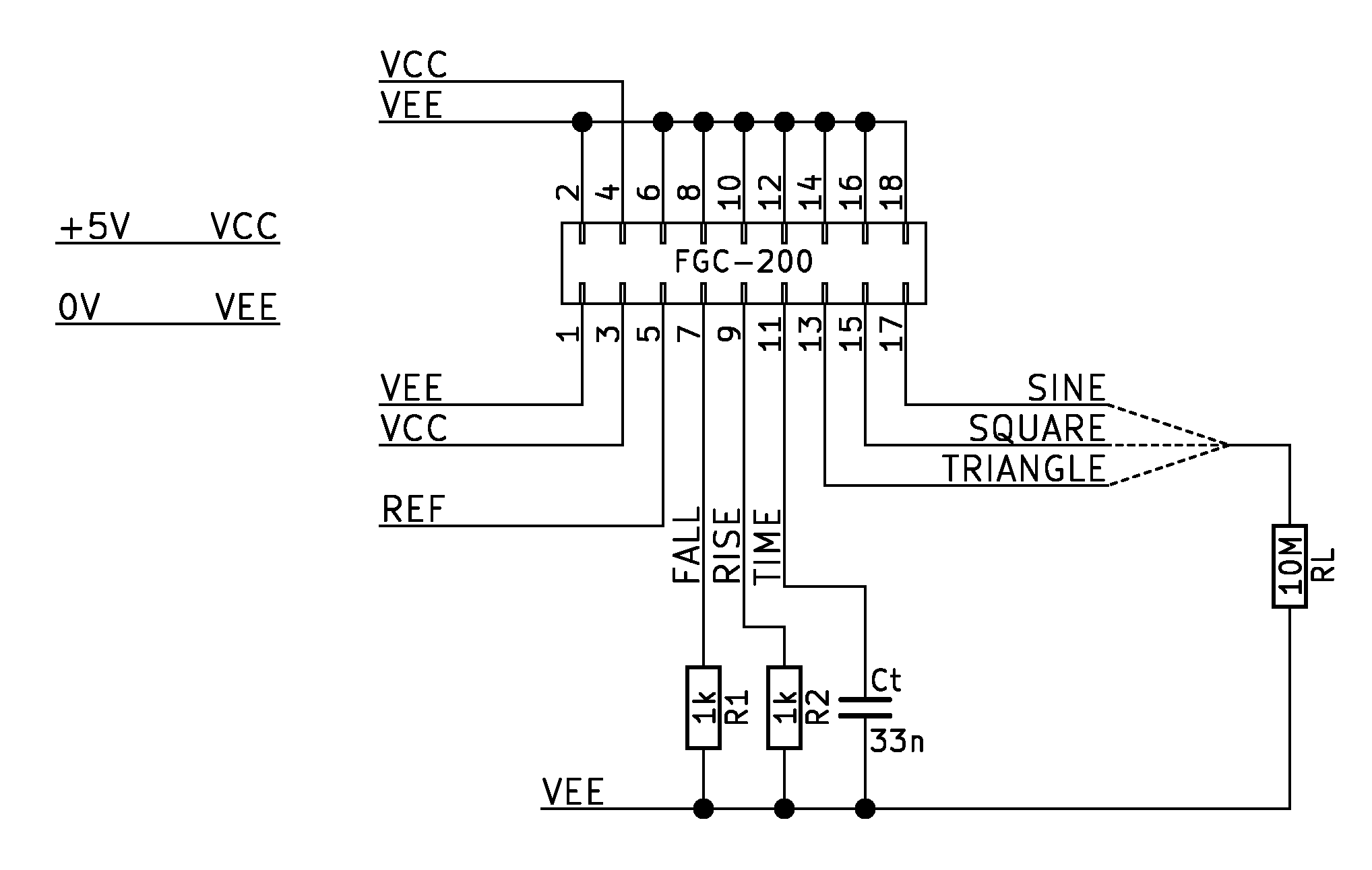 High Frequency Transistorized Function Generator
