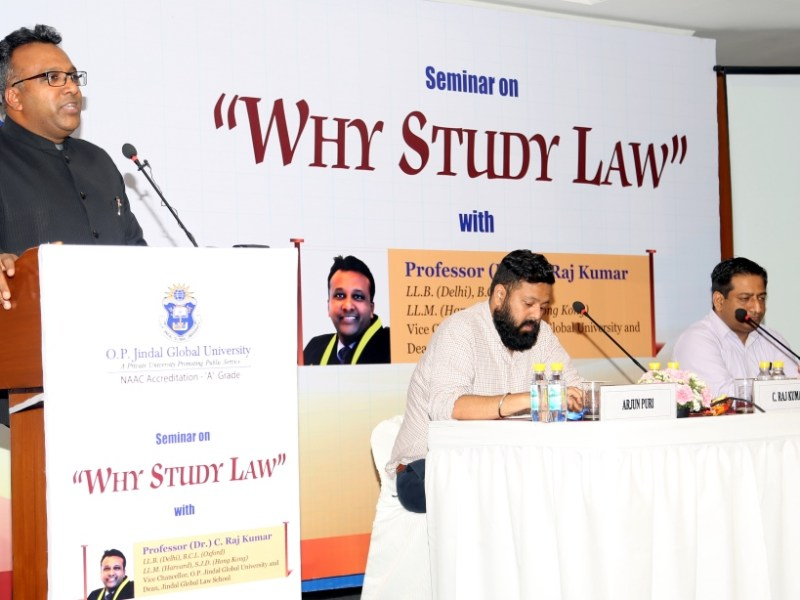 Why Study Law?