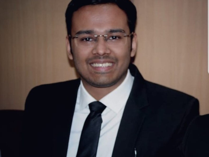 Mr. Dev Chaudhary judged his law school options carefully and chose to join an inaugural batch