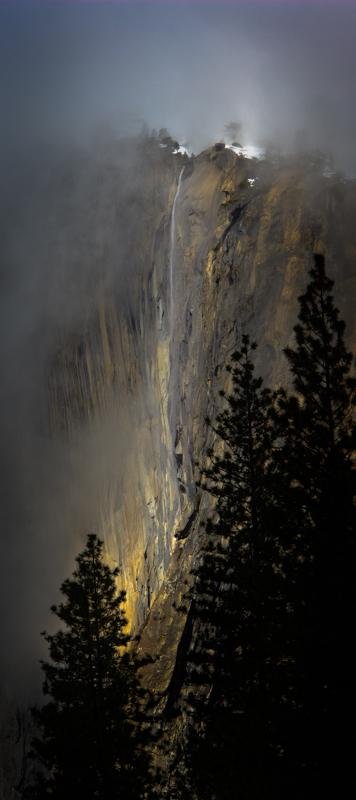 Horsetail Falls - Winter