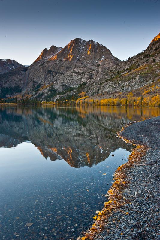 Silver Lake Along the June Lake Loop Eastern Sierra California