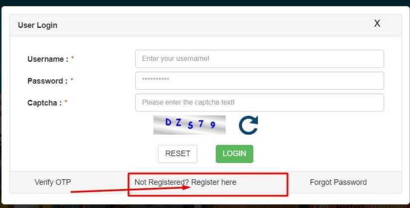 labour card login and ragistar image