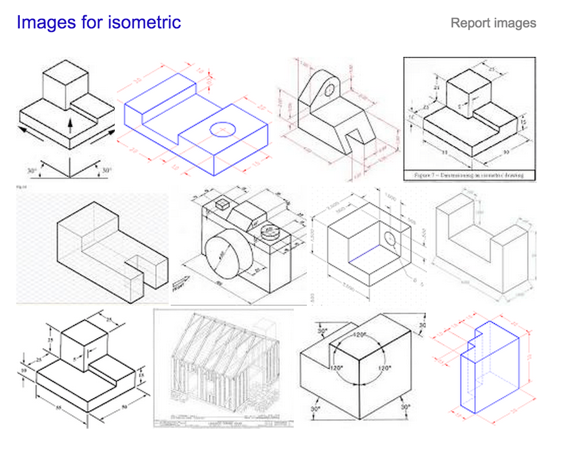 Isometric Sketching Worksheet