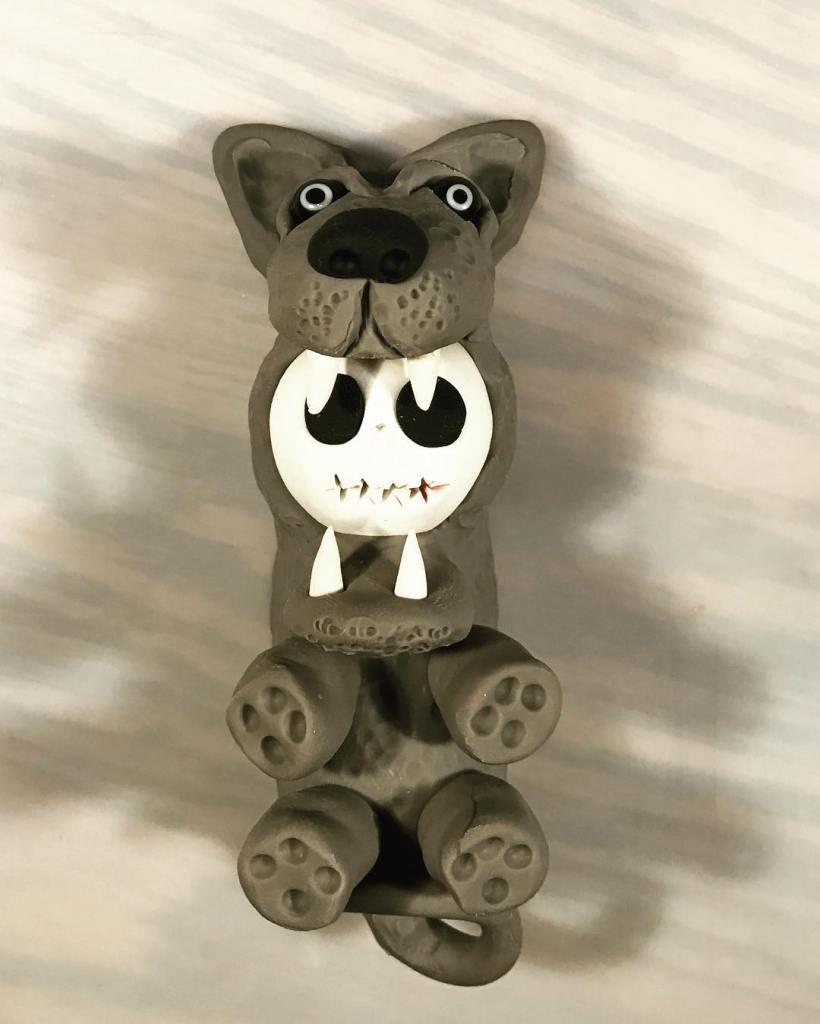 My polymer clay magnet art