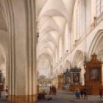 Interior of the Bavo Kerk, Haarlem (Fitzwilliam Musem). Photo by author.