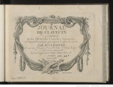 Journal de Clavecin