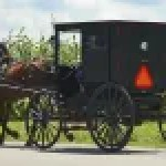 """Horse-and-buggy"" Anabaptists like the Amish are often portrayed as relics of an earlier age (Huffington Post)"