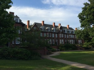 University House, the hall for women at Birmingham that Fry and Sidgwick founded. Author photo.