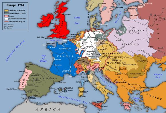 Europe,_1714