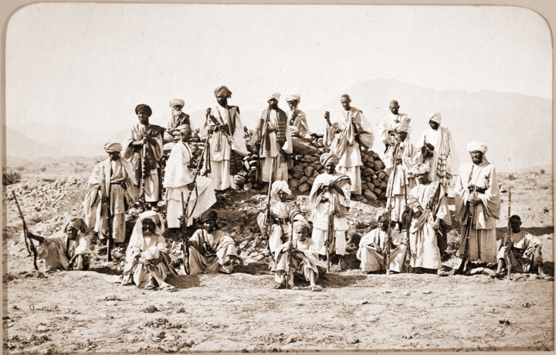 afridi tribesmen