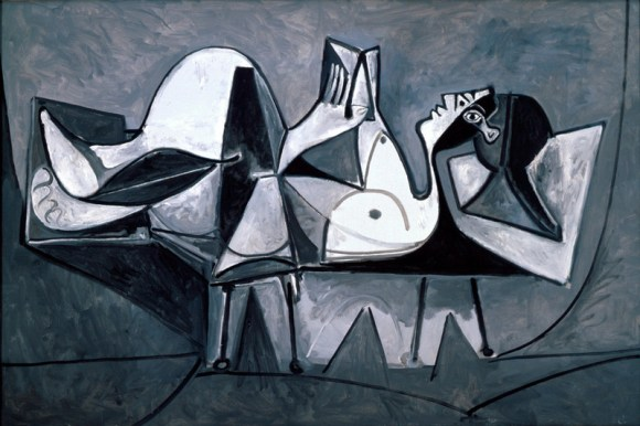 Picasso, Femme Couchee lisant (1960)