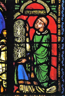 abbot suger presenting the tree of jesse window