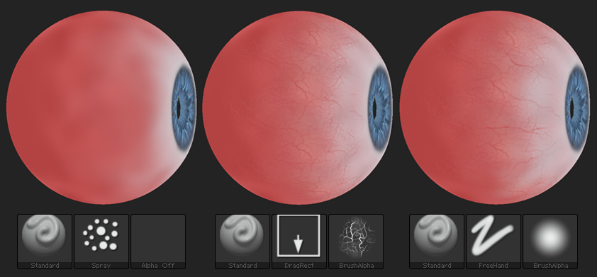 Make an Eye with Zbrush + Free Model - jhill xyz