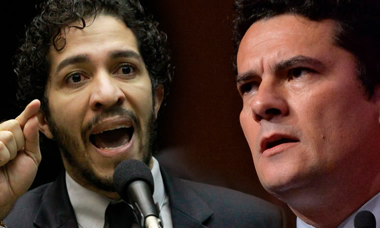 Jean Wyllys surta e ataca o juiz Sergio Moro e a Lava Jato: 'Não tem vergonha?