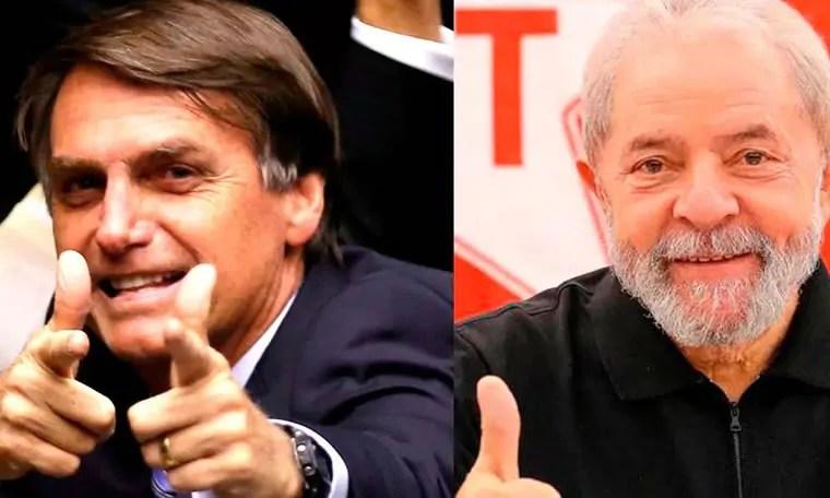 Nas redes: posts de Jair Bolsonaro são 42 vezes mais compartilhados que os de Lula