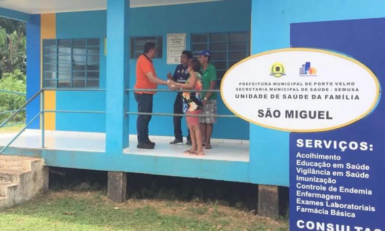 Vereador Júnior Cavalcante solicita providências no ramal do Rosário