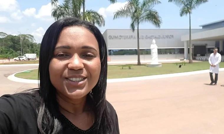 Joelna Holder participa de inauguração do Hospital de Câncer da Amazônia em Porto Velho