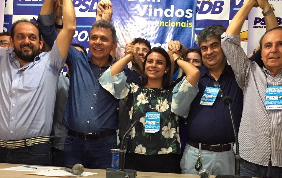 ELEIÇÕES – Eleita presidente do PSDB, Mariana Carvalho irá definir se vai ao governo ou senado