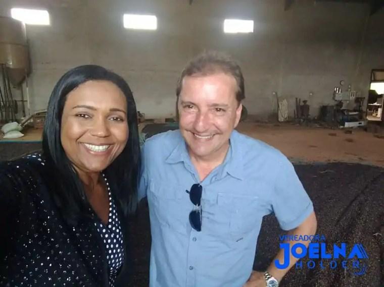 Joelna Holder participa da entrega de 600 mil mudas de café clonal em Porto Velho