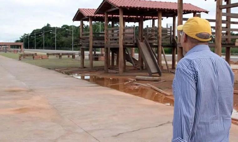 Confúcio quer entregar espaços de lazer de Rondônia à administração dos municípios; Espaço Alternativo entre eles