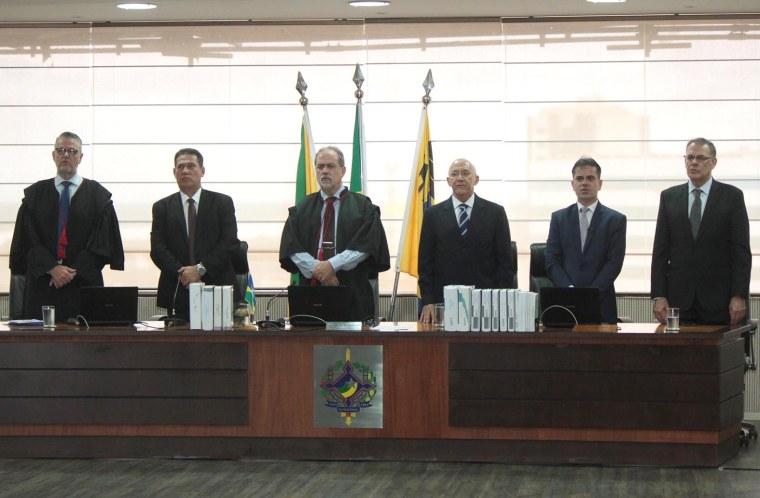 Maurão de Carvalho prestigia abertura do ano judiciário