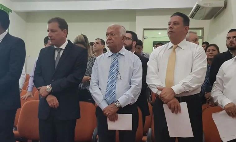 Edesio Fernandes e Hildon Chaves se reúne com lideranças religiosas