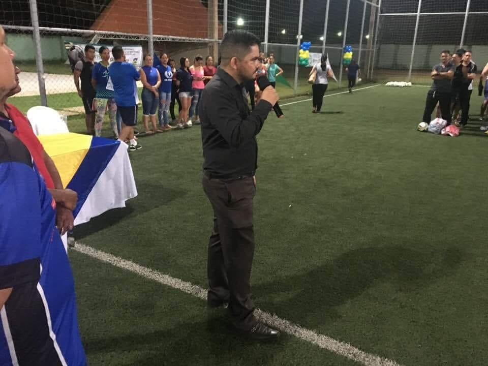 ESPORTE – Deputado Jesuíno prestigia abertura do Campeonato de Futebol da Segurança Pública