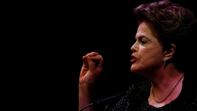 Dilma: 'Lula está preso para não ser eleito presidente da República'