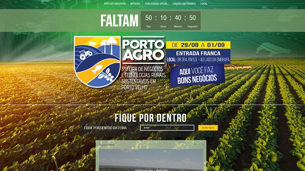 Prefeitura lança site oficial da Portoagro 2018