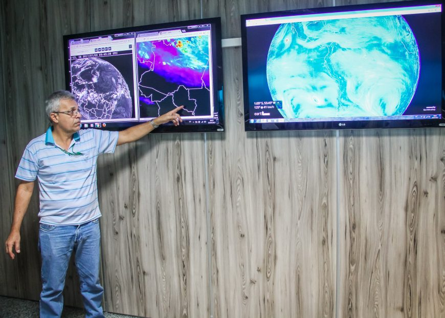 Sedam monitora focos de calor em Rondônia e repassa informações para os órgãos de fiscalização