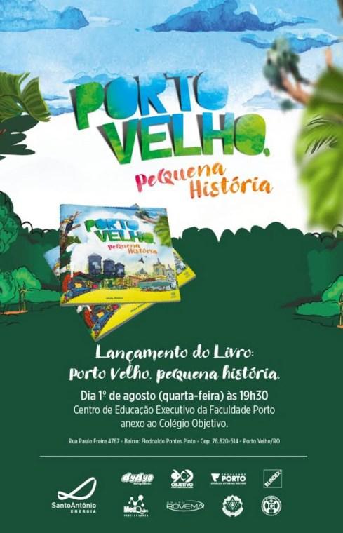 """Aleks Palitot lança livro """"Porto Velho: Uma Pequena História"""""""