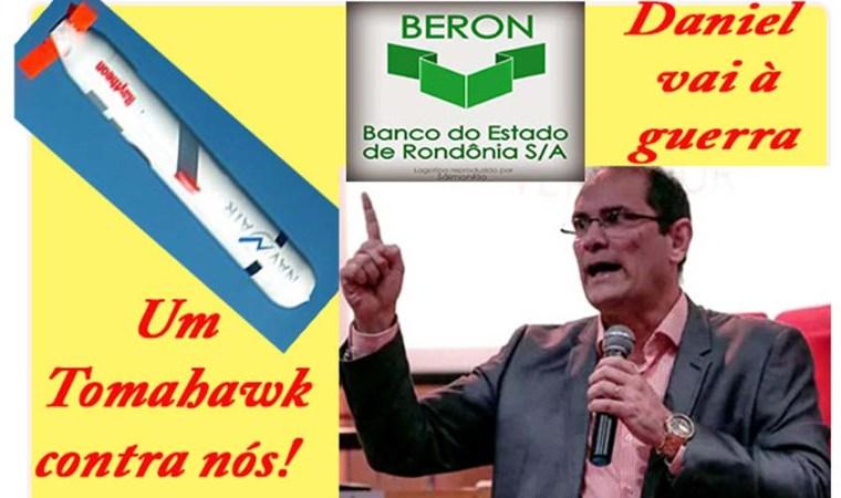 União ameaça Rondônia com um Tomahawk por causa da dívida pornográfica do Beron