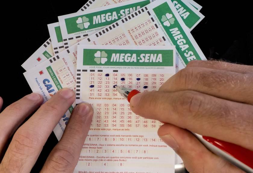 Mega-Sena paga hoje prêmio de R$ 40 milhões