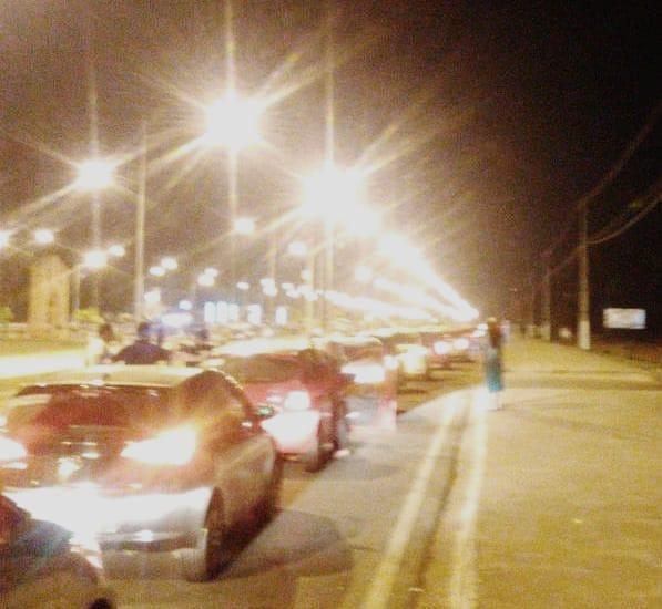 SEGURANÇA – Motoristas de aplicativo fazem carreata de protesto nas ruas de Porto Velho