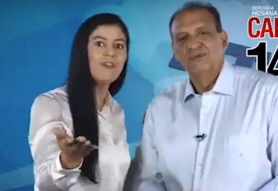 """ELEIÇÕES – Nilton Capixaba anuncia esposa como substituta """"em nome de Jesus"""""""